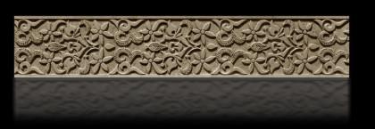 cenefas talladas de madera