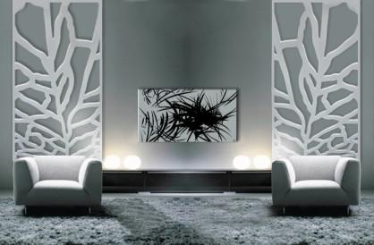celosías decorativas y separadores de ambientes