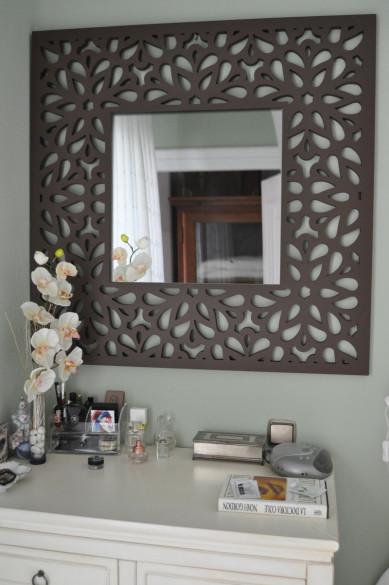 Celosias para la fabricación de espejos, una decoración actual con celosias de madera