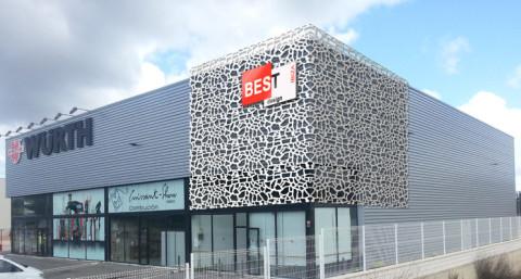 celosias exterior para revestimentos de fachada, celosias decorativas fabricadas en separadores de ambiente