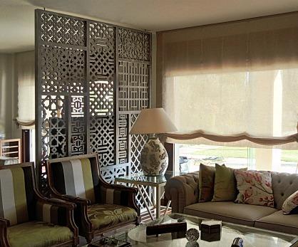 celosias,celosias madera,celosias decorativas,separadores de ambientes, paneles decorativos,celosias pvc