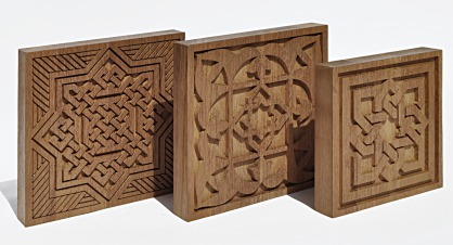 Talla en madera de Iroco -  Modelo andalusi