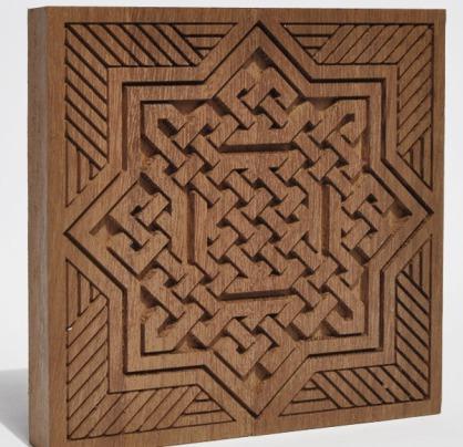 Panneaux scuplté bois