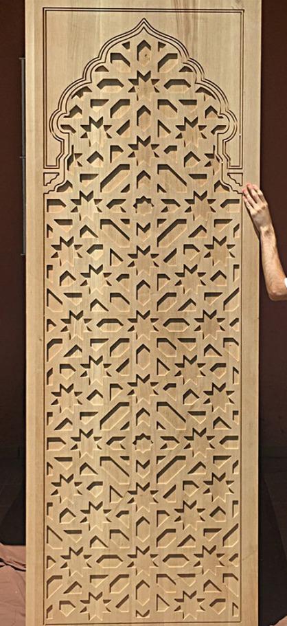 paneles tallados madera