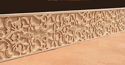 Cenefas talladas madera - modelos andalusi cfn5