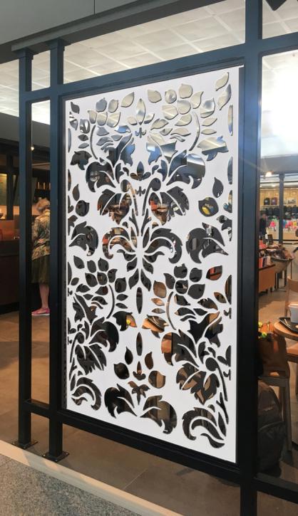 Celosias decorativas para separadores de ambientes