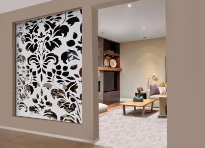separador de ambientes panel decorativo celosia
