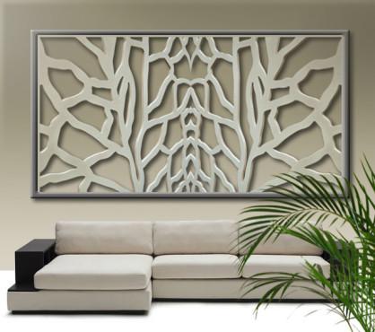 Panel decorativo de Celosia