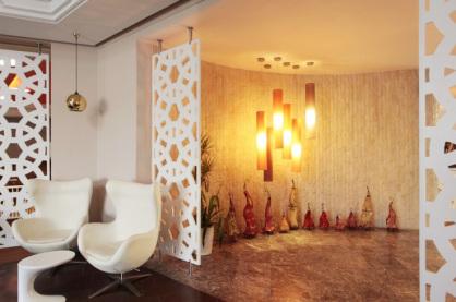separacion de ambientes con Panel decorativo de Celosia