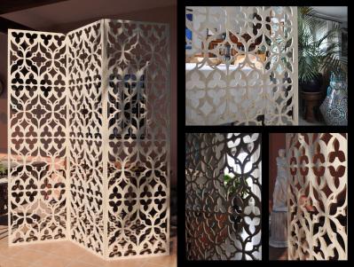 paneles separadores de ambientes de salon
