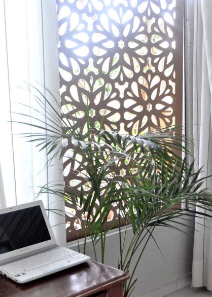 paneles decorativos de celosias