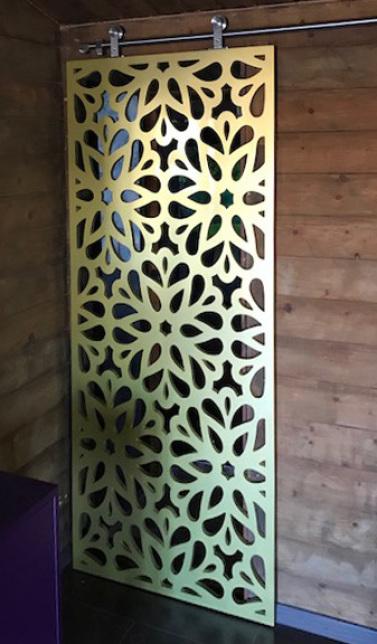 paneles decorativos de celosias para puertas
