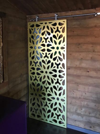 paneles decorativos con celosias para correderas