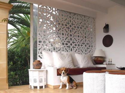 separadores de ambientes en terrazas y porches