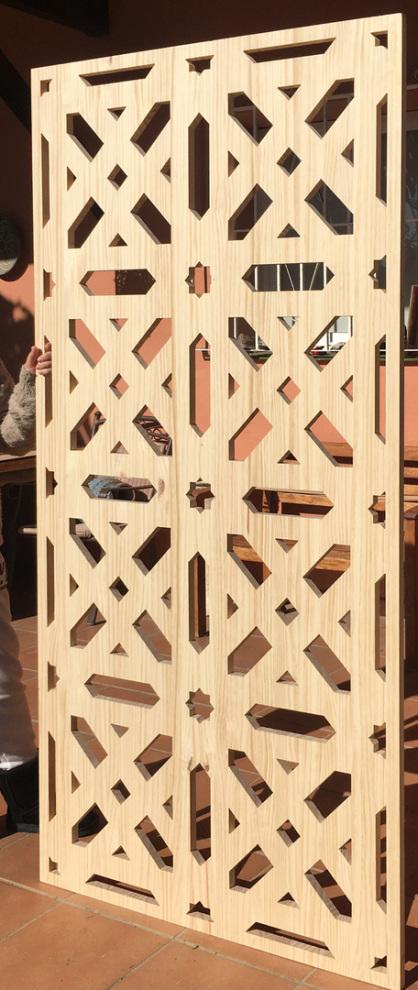 celosias de madera para decoracion