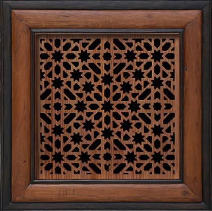 celosias de madera arabes