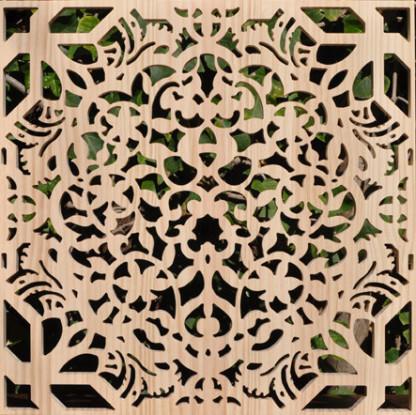 paneles de celosias en madera