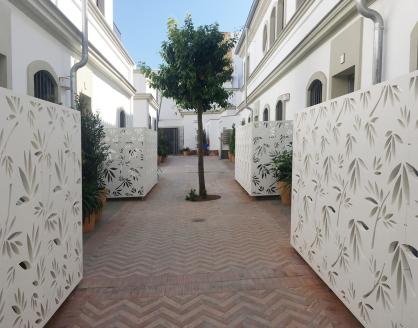 paneles de celosia exterior fabricadas en pvc