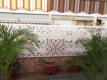 Celosias arquitectonicas para exterior jardin y terrazas