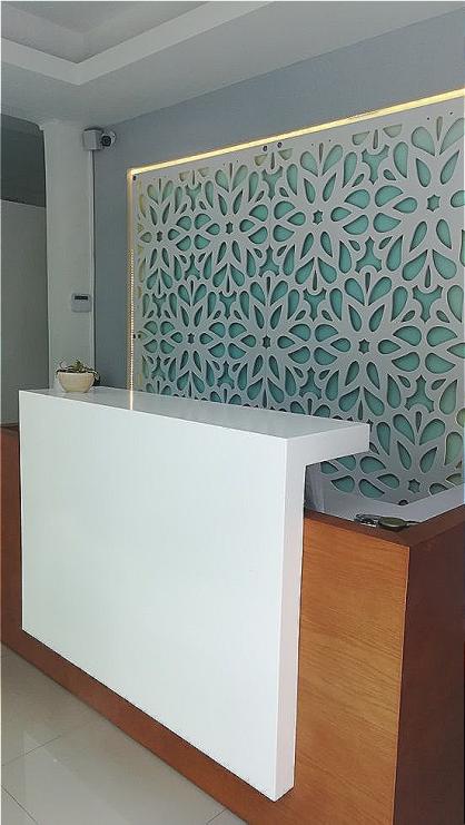 Celosias para revestimento decoración de pared