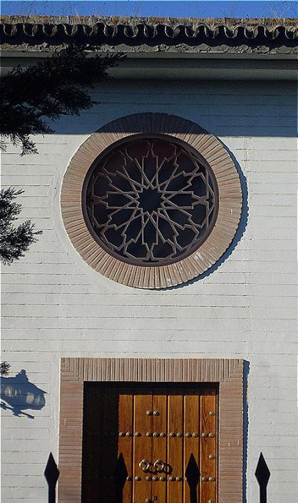 celosias espejos circulares de madera