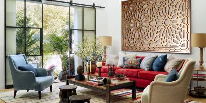 Celosia decorativa para salon