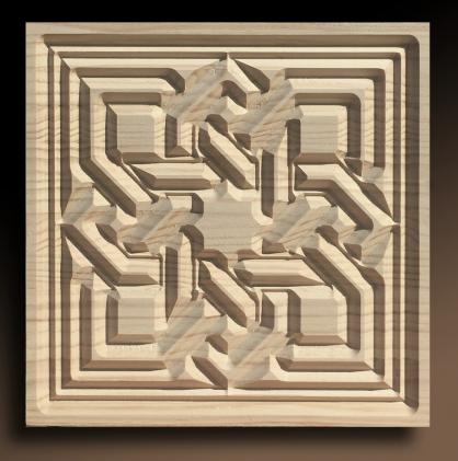 tallas de madera para artesonados