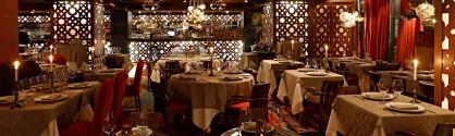 celosias para restaurante, separacion de ambientes