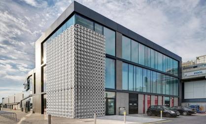 Celosias arquitectura fachadas revestimiento