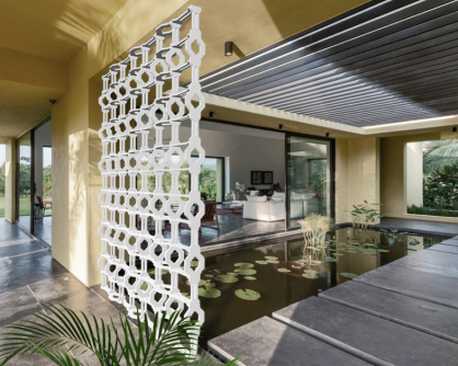 celosias aluminio decorativas para exterior