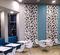 restaurante con paneles de celosias decorativas