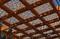 pergolas con paneles de celosis decorativas